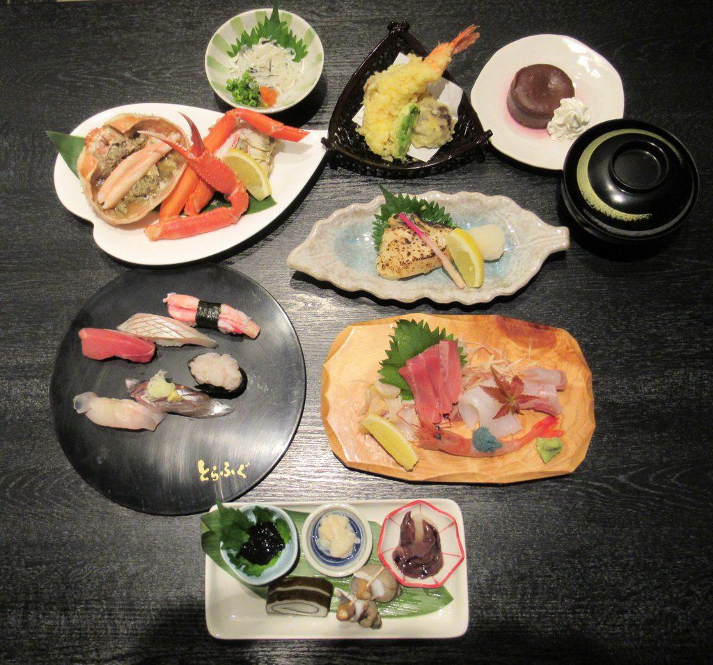 水産物・和牛等を楽しモー8000円コース